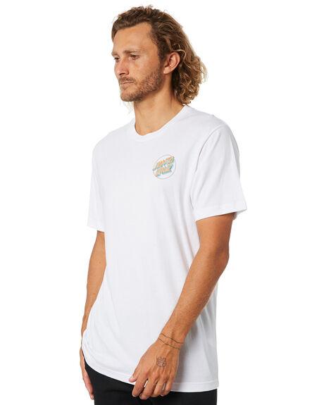 WHITE MENS CLOTHING SANTA CRUZ TEES - SC-MTC0640WHT