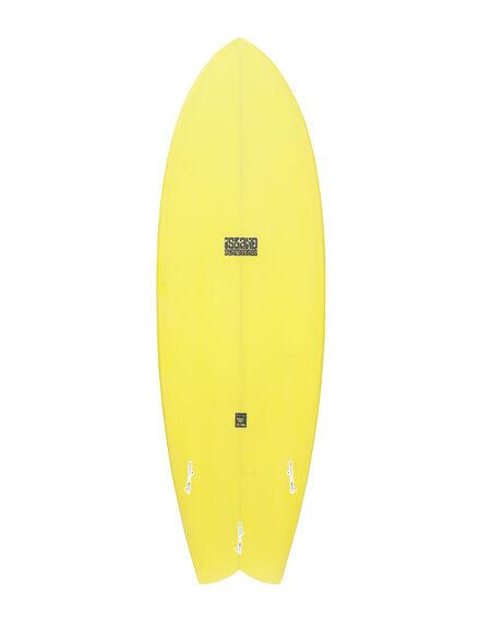 YELLOW BOARDSPORTS SURF ISLAND SURFBOARDS - 130359-56-62YEL