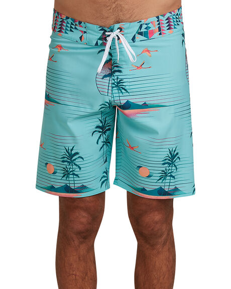 HYPNO GREEN MENS CLOTHING BILLABONG BOARDSHORTS - BB-9504402-HYG