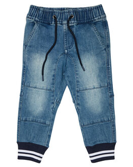 MID WASH KIDS BOYS ROOKIE BY THE ACADEMY BRAND PANTS - R19W140MIDW