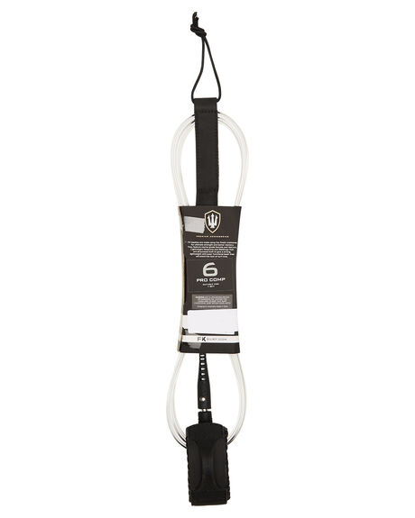 CLEAR WHITE BOARDSPORTS SURF FK SURF LEASHES - 1250CLWHI