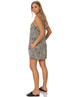 LEOPARD WOMENS CLOTHING VOLCOM DRESSES - B1341977LEO