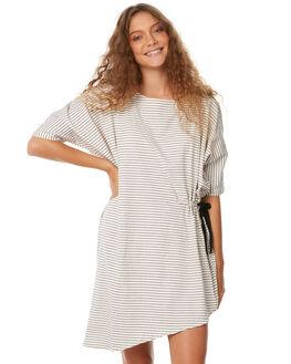 STRIPE WOMENS CLOTHING ZULU AND ZEPHYR DRESSES - ZZ2108STR