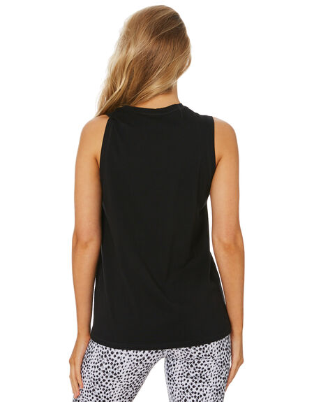 BLACK WOMENS CLOTHING DK ACTIVE ACTIVEWEAR - DK06-025-BLK-XS