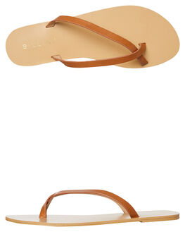 TAN WOMENS FOOTWEAR BILLINI FLATS - S604TAN