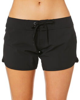 BLACK WOMENS CLOTHING RIP CURL SHORTS - GBOAW90090