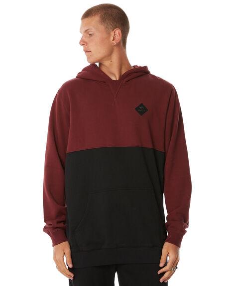 BLACK MENS CLOTHING RVCA JUMPERS - R183167BLK