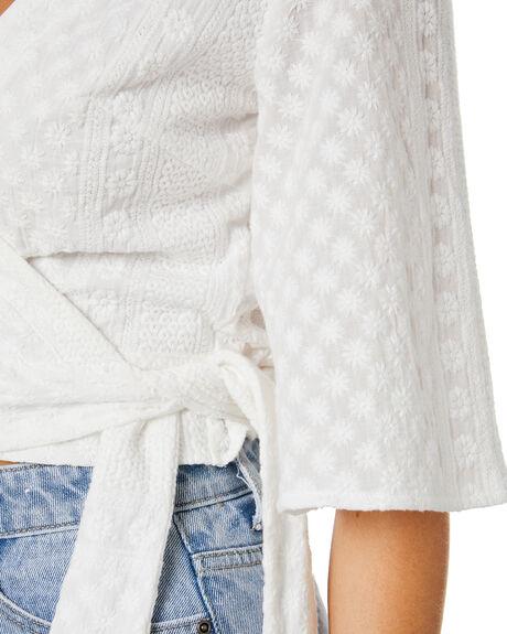 WHITE WOMENS CLOTHING RUSTY FASHION TOPS - WSL0723WHT