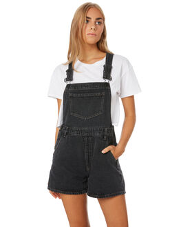 SULPHUR BLACK WOMENS CLOTHING VOLCOM PLAYSUITS + OVERALLS - B1921903SLF