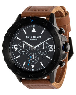 BLACK MENS ACCESSORIES QUIKSILVER WATCHES - EQYWA03020KVJ0