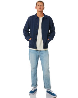NAVY MENS CLOTHING MOLLUSK JACKETS - MS14133NVY
