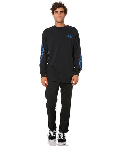 BLACK MENS CLOTHING SANTA CRUZ TEES - SC-MLA0867BLACK