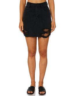BLACK RIP WOMENS CLOTHING LEE SKIRTS - L-656520-GE8