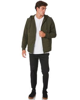 DARK MILITARY MENS CLOTHING RVCA JACKETS - R393443DKMIL