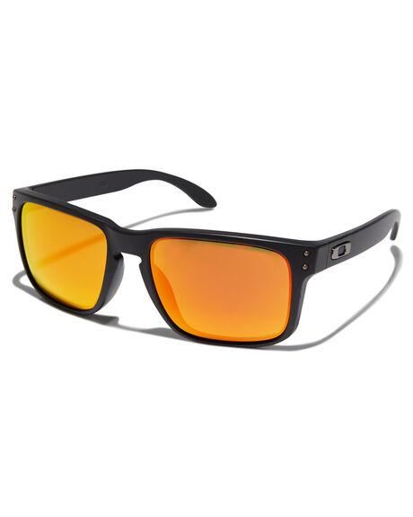 71e1ac7c70fb Oakley Holbrook Sunglasses - Matte Black Prizm   SurfStitch