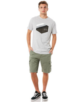 MID GREEN MENS CLOTHING RIP CURL SHORTS - CWAKU19436
