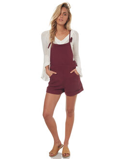 PLUM WOMENS CLOTHING ELEMENT PLAYSUITS + OVERALLS - 274871PLUM