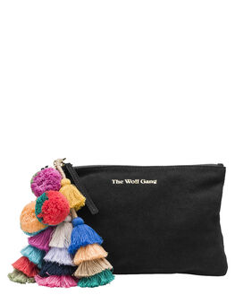 NOIR WOMENS ACCESSORIES THE WOLF GANG PURSES + WALLETS - TWGBC001NOIR