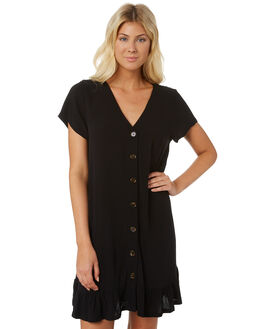 BLACK WOMENS CLOTHING SWELL DRESSES - S8188446BLACK