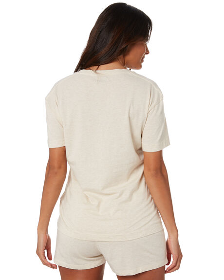 NATURAL MARLE WOMENS CLOTHING SWELL TEES - S8211001NATRL