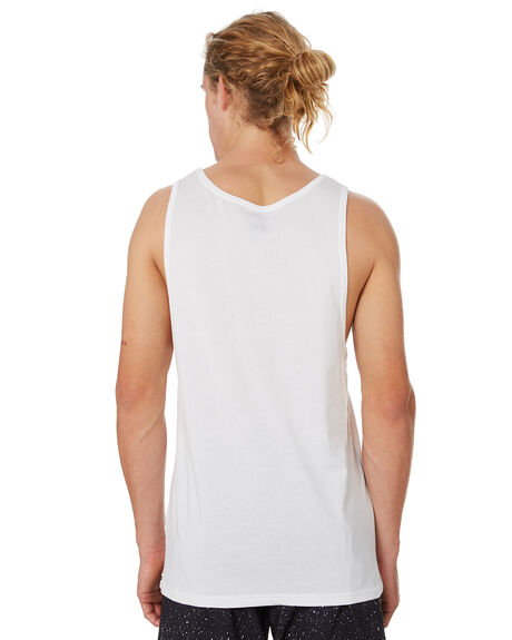 WHITE MENS CLOTHING VOLCOM SINGLETS - A0241575WHT