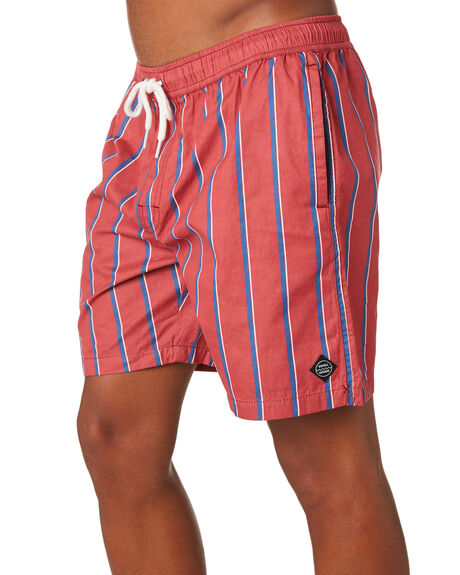 RED MENS CLOTHING SWELL BOARDSHORTS - S5202237RED