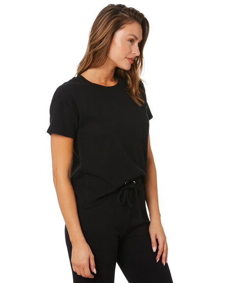BLACK WOMENS CLOTHING SWELL TEES - S8213001BLACK