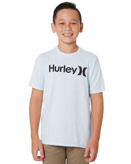 TOPAZ MIST HEATHER KIDS BOYS HURLEY TOPS - BQ1504445