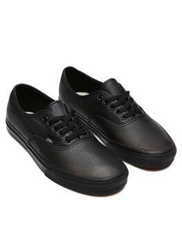 BLACK MENS FOOTWEAR VANS SNEAKERS - SSVN000JRAL3BBLKM