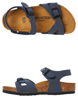 NAVY KIDS BOYS BIRKENSTOCK THONGS - 1012504NAVY