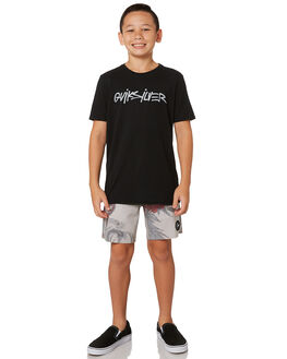 BLACK KIDS BOYS QUIKSILVER TOPS - EQBZT03863KVJ0