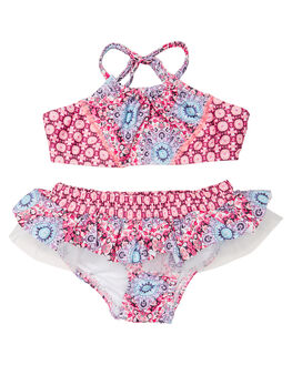MULTI KIDS TODDLER GIRLS SEAFOLLY SWIMWEAR - 27029TMUL