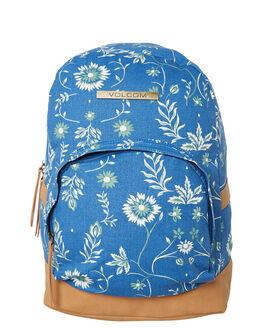 CAMPER BLUE WOMENS ACCESSORIES VOLCOM BAGS + BACKPACKS - E6531881CMP