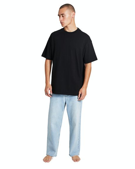 BLACK MENS CLOTHING GENERAL PANTS CO. BASICS TEES - 37402800023
