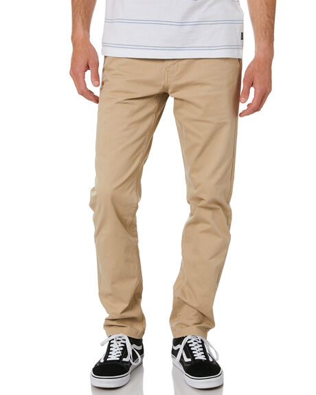 KHAKI MENS CLOTHING RIP CURL PANTS - CPAAM90064