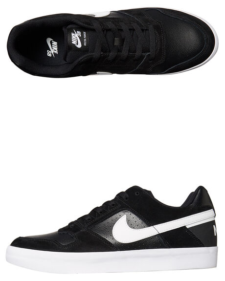 new arrival 2ac04 ffc97 BLACK WHITE MENS FOOTWEAR NIKE SKATE SHOES - 942237-010