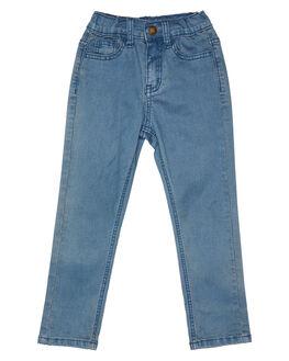 BLUE WASH KIDS BOYS ROCK YOUR KID PANTS - TBP2054-BLBLUW