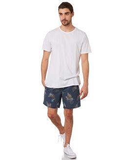 NAVY FLORAL MENS CLOTHING BARNEY COOLS BOARDSHORTS - 806-CR3NVYFL
