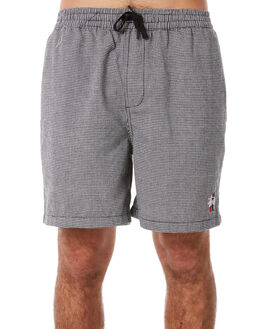 CHARCOAL MENS CLOTHING STUSSY SHORTS - ST082606CHA