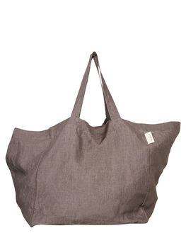 CHARCOAL WOMENS ACCESSORIES THE BEACH PEOPLE BAGS - BG-L03-02-OCHAR