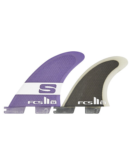 PURPLE BOARDSPORTS SURF FCS FINS - FSAM-PC01-FS-RPUR1