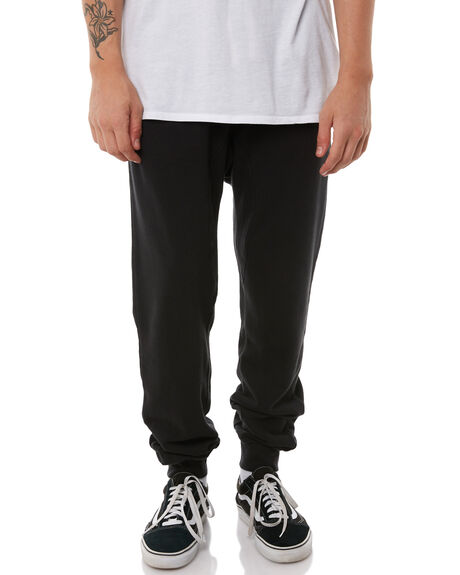 DIRTY BLACK MENS CLOTHING BANKS PANTS - PT0034DBL