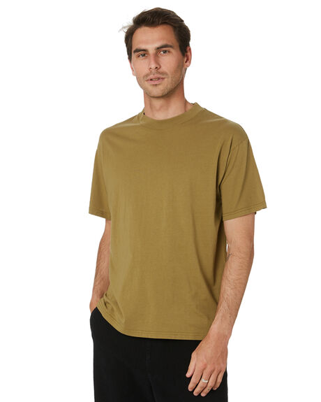OLIVE OIL MENS CLOTHING THE CRITICAL SLIDE SOCIETY TEES - TE2149OLVOL