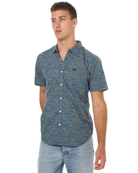 STARGAZER MENS CLOTHING RVCA SHIRTS - R172184SGZR