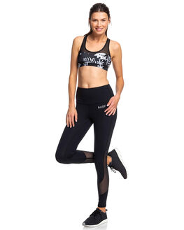 TRUE BLACK WOMENS CLOTHING ROXY ACTIVEWEAR - ERJNP03259-KVJ0