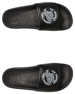 BLACK KIDS BOYS SANTA CRUZ THONGS - SC-YYC8164BLK