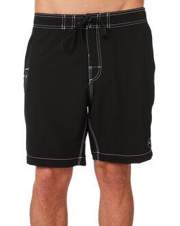 BLACK MENS CLOTHING RUSTY BOARDSHORTS - BSM1381BK