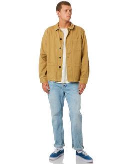 TAN EARTH MENS CLOTHING MOLLUSK JACKETS - MS14133TAN