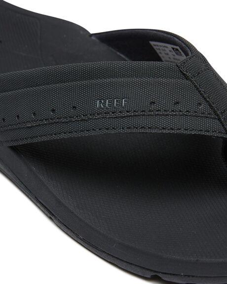 BLACK MENS FOOTWEAR REEF THONGS - A3YKSBLA