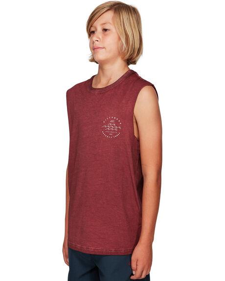 OXBLOOD KIDS BOYS BILLABONG TOPS - BB-8592503-OX2